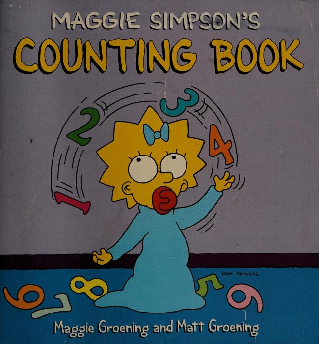 Maggie Simpson's counting book by Maggie Groening