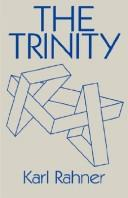 The Trinity by Rahner, Karl
